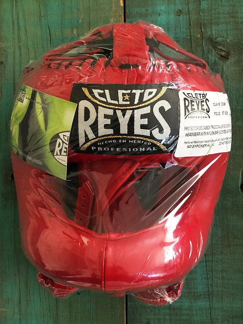 Cabezal Tradicional Barra Cleto Reyes Rojo