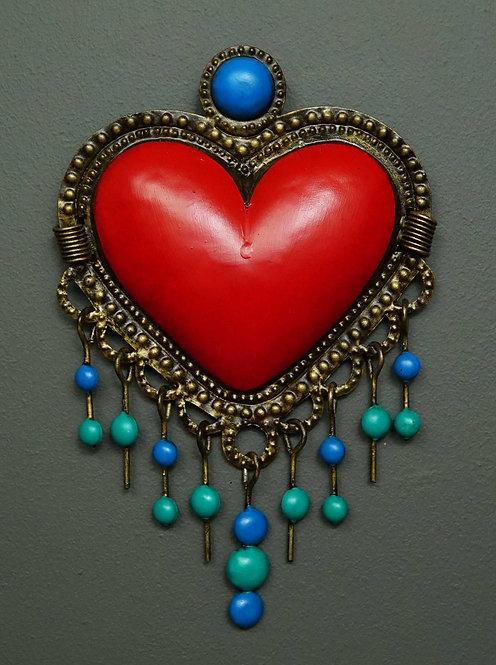 Corazón San Miguel CSMA2 30X18cm.