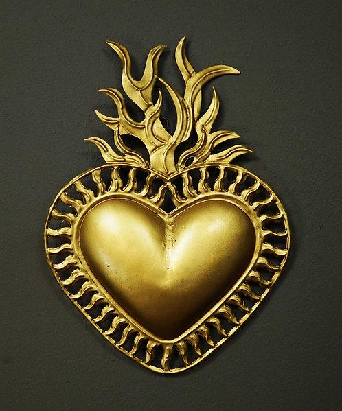 Corazón San Miguel CSMA184 28X21cm.