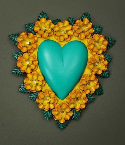 Corazón San Miguel CSMA12 30X23cm.