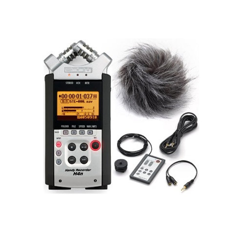 Zoom h4n sound recording system
