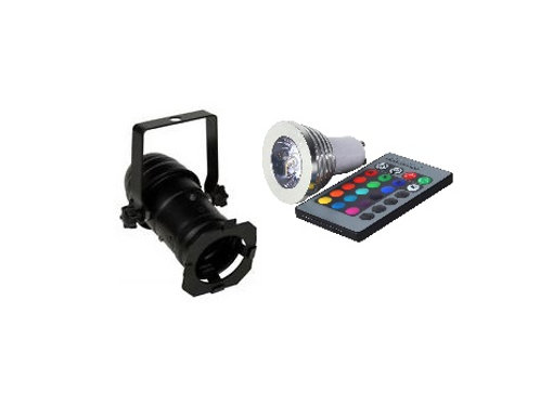 Pulse PAR16 Multi Color Led
