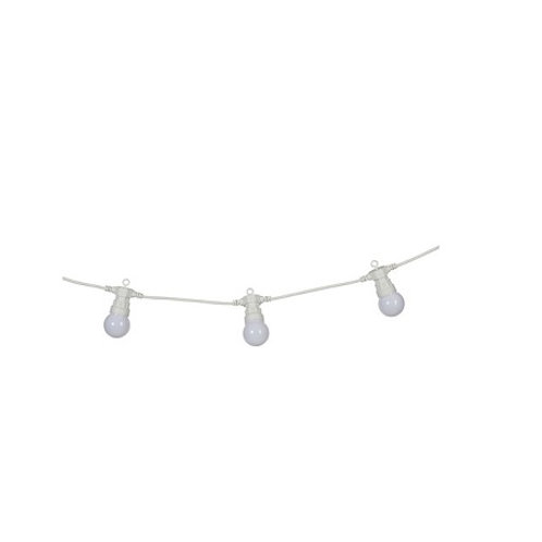 Warm White LED Connectable Outdoor Festoon Party Lights 25