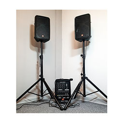 Speakers and microphone Portable PA Syst
