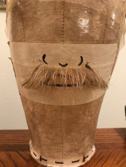 Blonde Mustache