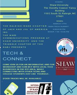 Raleigh-Wake Teens Host Tech & Connect Summit
