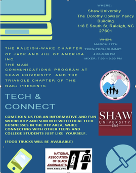 Raleigh-Wake Teens Host Tech & Connect Summit