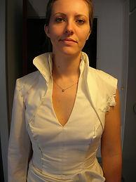 Toile du boléro assorti à la robe