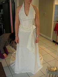 robe en toile premier essayage