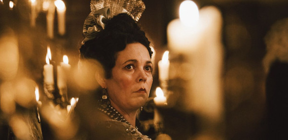 Olivia Coleman as Queen Anne