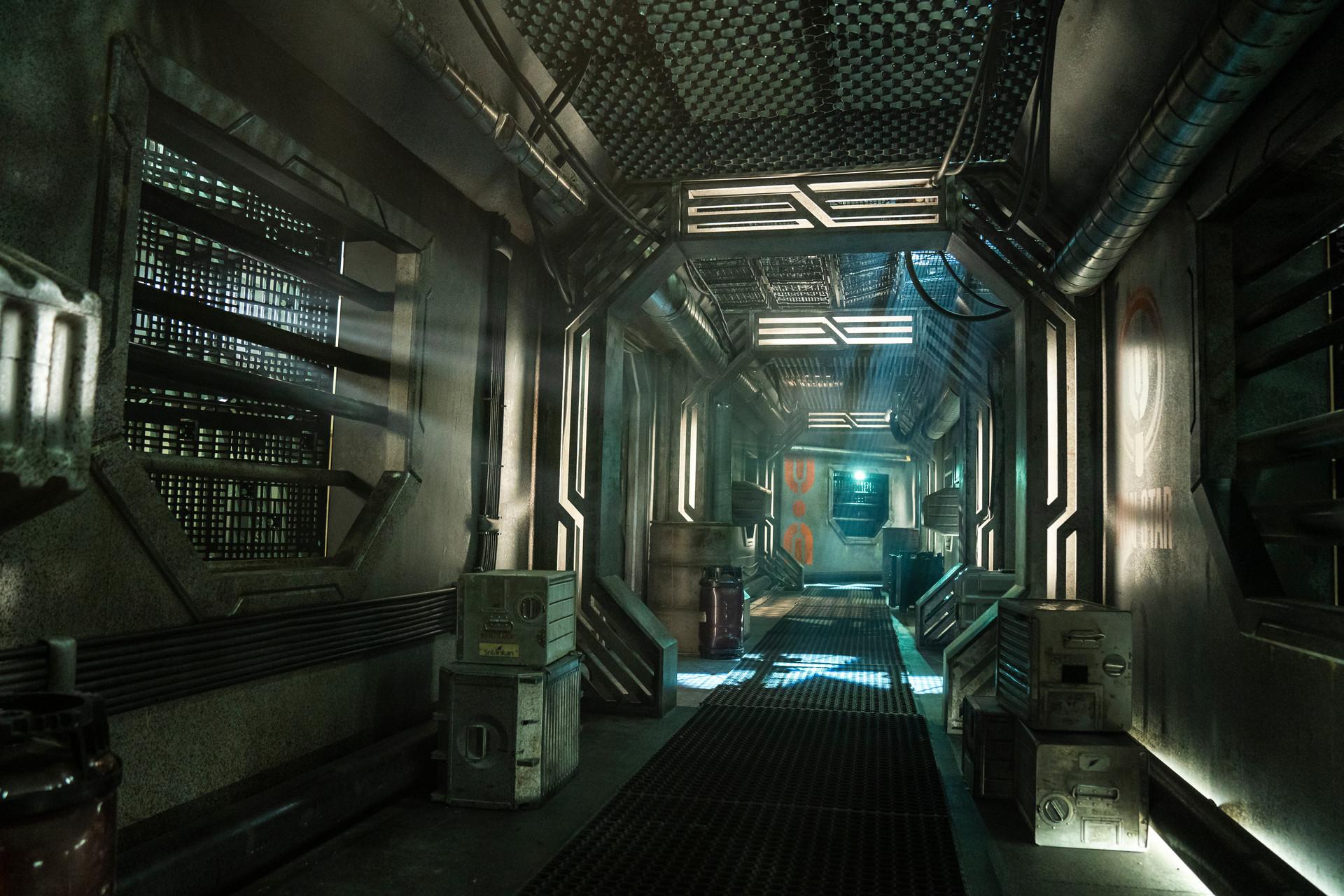 SS Iron Star Corridor