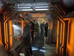 Red Dwarf - SS Iron Star Corridor