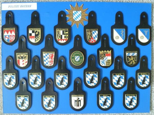 Polizei Taschenanhänger