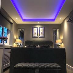 Interior refresh - Halo ceiling bedroom-