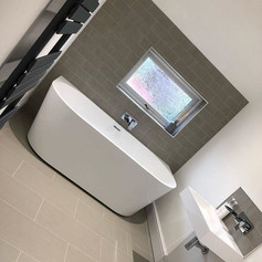 Bathroom completed in Four oaks, check o