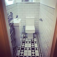 Cloakroom refurb #beforeandafter #victor