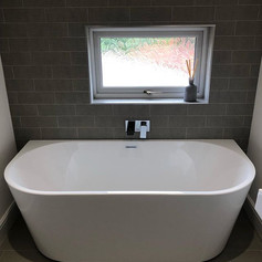 Bathroom completed in Four oaks.  Get in