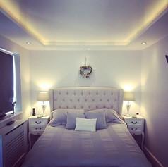 Bedroom transformation... mood lighting
