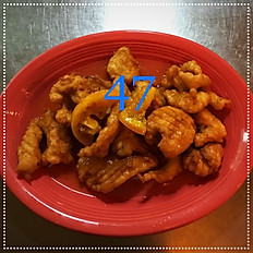 47. Orange Chicken
