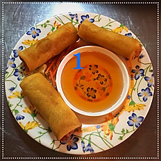 1. Veggie Rolls (Fried)