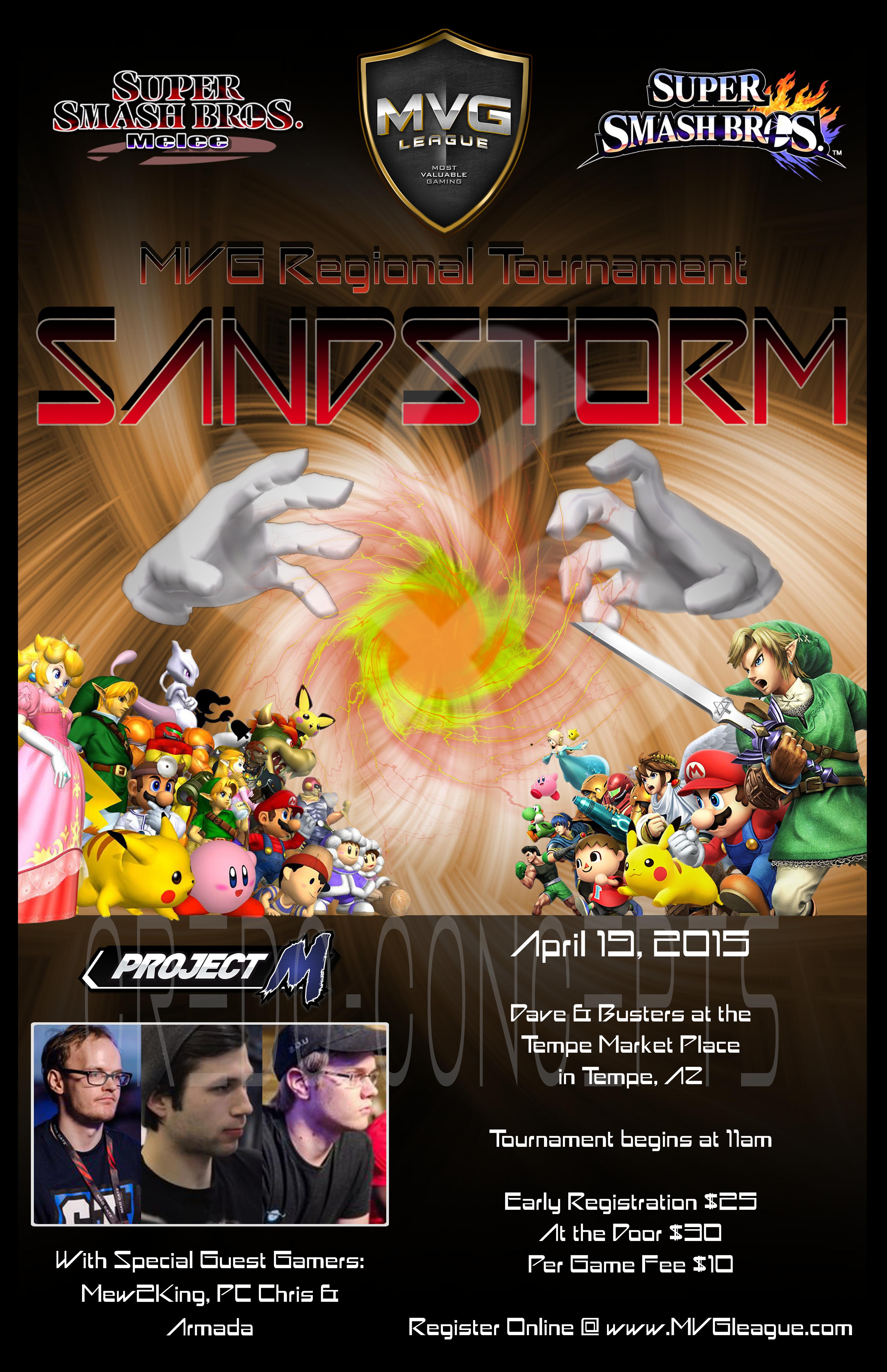 MVG Sandstorm Ad