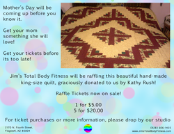 Mother's Day Raffle Ad