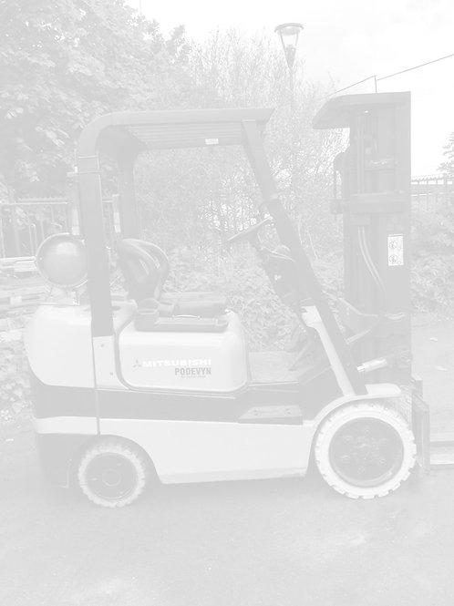 Chariot élévateur d'occasion gaz, Mitusbishi