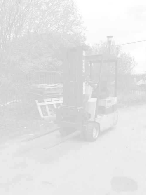 Chariot élévateur électrique d'occasion, Clark TM20