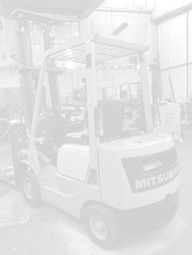 Benzine vorkheftruck Mitsubishi, FG18 Sx450