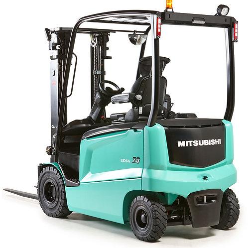 prix Chariot élévateur électrique Mitsubishi 2500 kg Belgique Podevyn