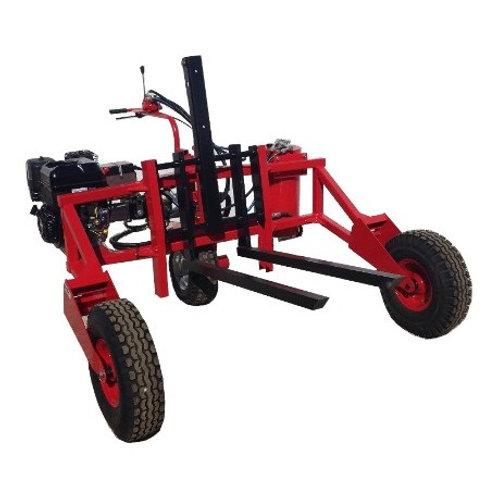 Transpalette essence/diesel tout terrain