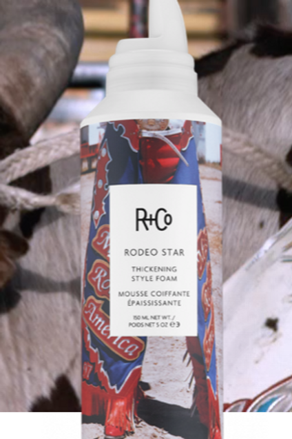 Rodeo Star Thickening Foam Mousse