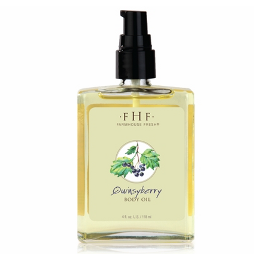 Quinsyberry Botanical Body Oil