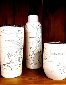St. Michaels Map Cups