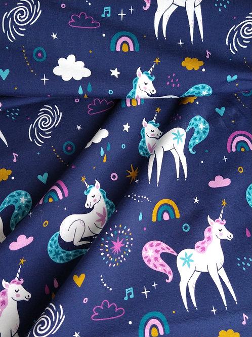 Unicorn blauw