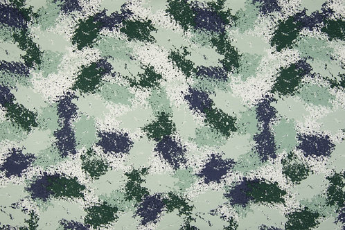 Vlekken groen/blauw - FT brushed