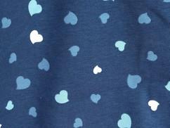Blauwe hartjes