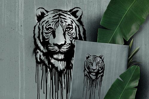 Wild tiger - paneel