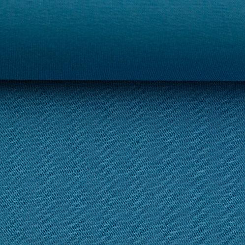 French terry azuurblauw