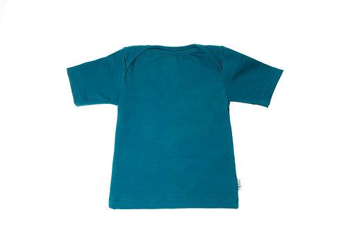 T-shirt turkoois