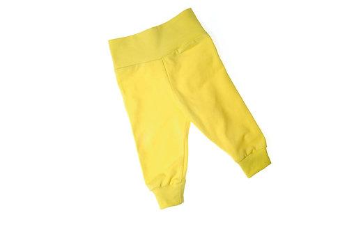 Leggingbroekje geel