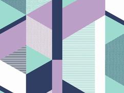 Triangle purple