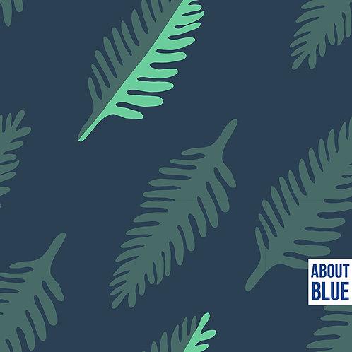 Wonders of life - LEAF - About Blue Fabrics