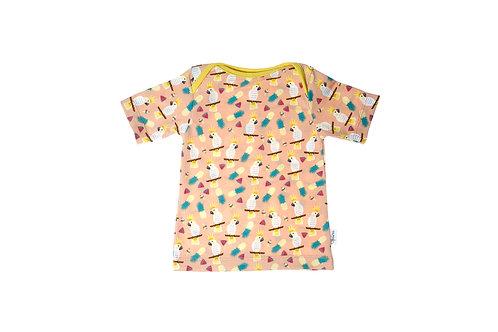 T-shirt papegaaien