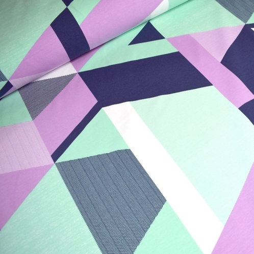 Triangular purple