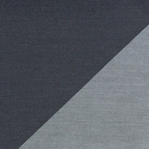Viscose tricot doubleface grijs