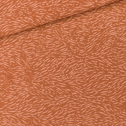 Flecks pecan brown - viscose - SYAS
