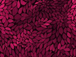 Color leaves fushia
