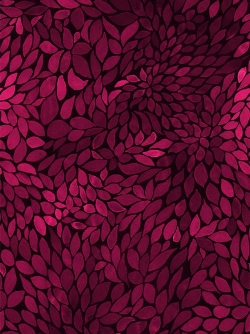Leaves mono FT - rozerood