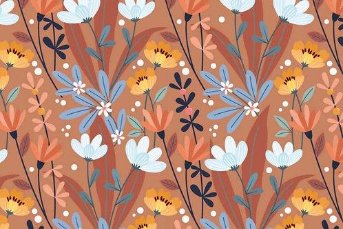 Tricot zomerbloemen